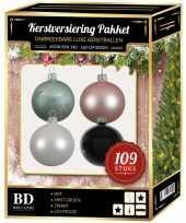 Complete luxe versiering set nr 13 voor 150 cm kerstboom